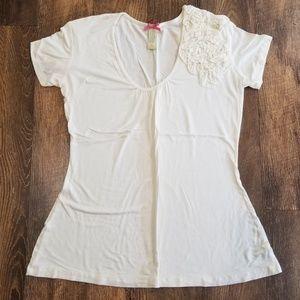 Downeast Off-white fashion t-shirt